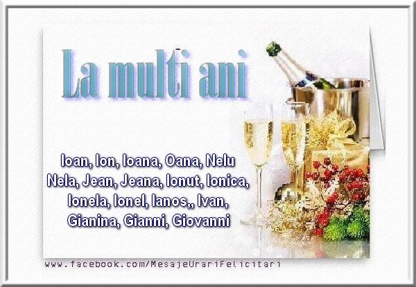 Cele mai apreciate felicitari de Sfantul Ioan