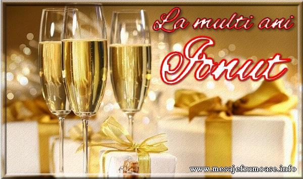 Felicitari de Sfantul Ioan - La multi ani Ionut