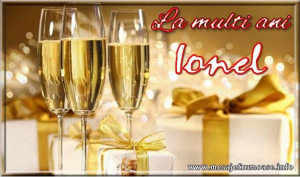 Felicitari de Sfantul Ioan - La multi ani Ionel