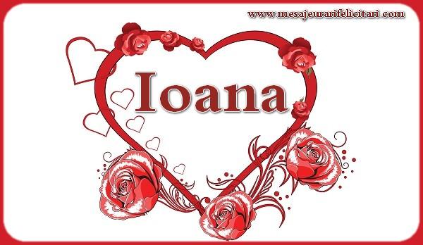 Felicitari de Sfantul Ioan - Love Ioana
