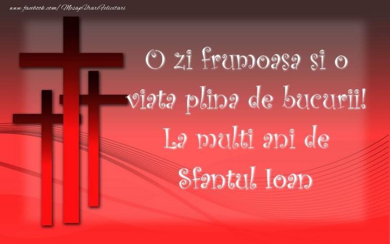 Felicitari de Sfantul Ioan - Sfantul Ioan