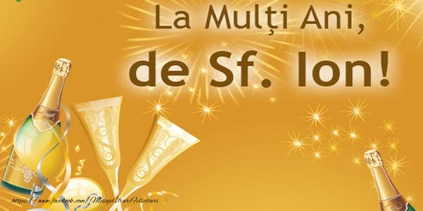 Felicitari de Sfantul Ioan - La multi ani de Sf. Ion!