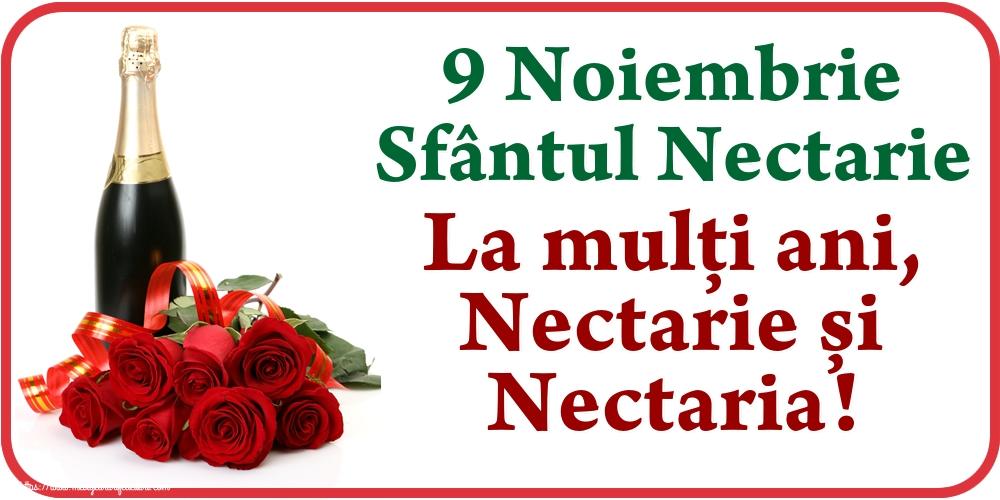 9 Noiembrie Sfântul Nectarie La mulți ani, Nectarie și Nectaria!