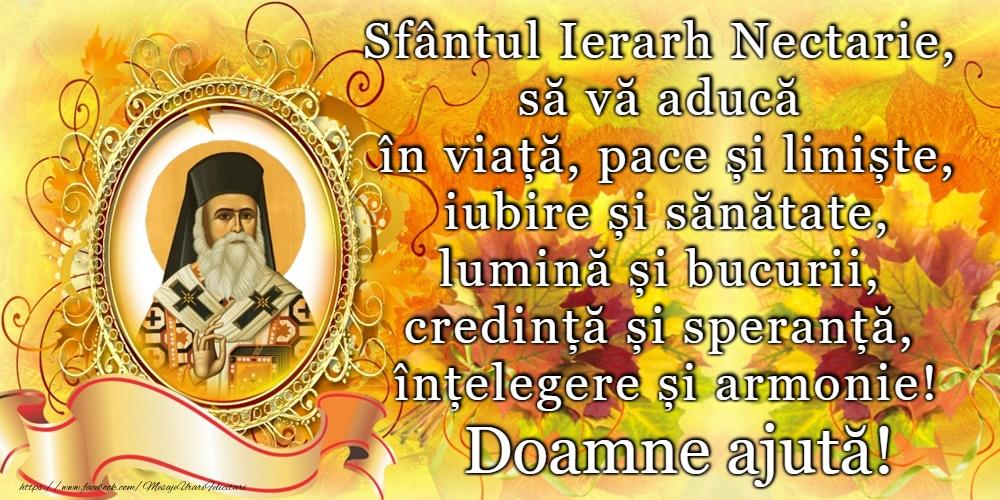 Felicitari de Sfantul Nectarie - 9 Noiembrie - Sfântul Nectarie