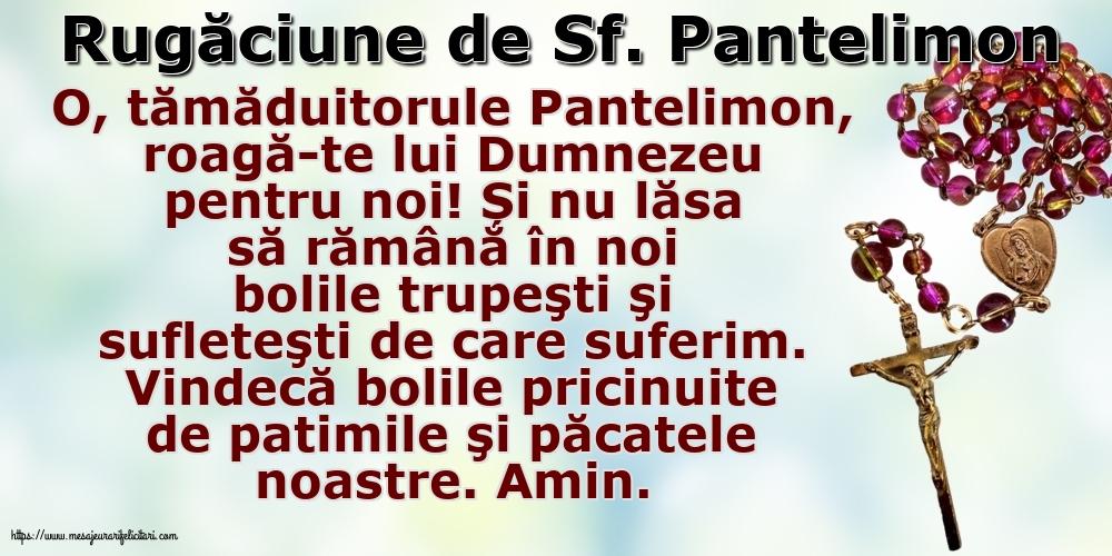 Imagini de Sfantul Pantelimon - Rugăciune de Sf. Pantelimon