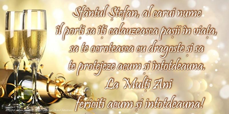 Cele mai apreciate felicitari de Sfantul Stefan - La multi ani de Sfantul Stefan!