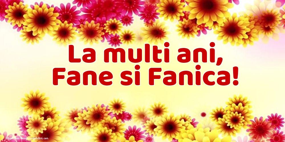 Felicitari de Sfantul Stefan - La multi ani, Fane si Fanica!