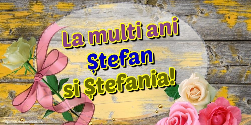Cele mai apreciate felicitari de Sfantul Stefan - La multi ani Ștefan si Ștefania!