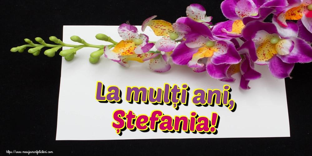 Felicitari de Sfantul Stefan - La mulți ani, Ștefania! - mesajeurarifelicitari.com