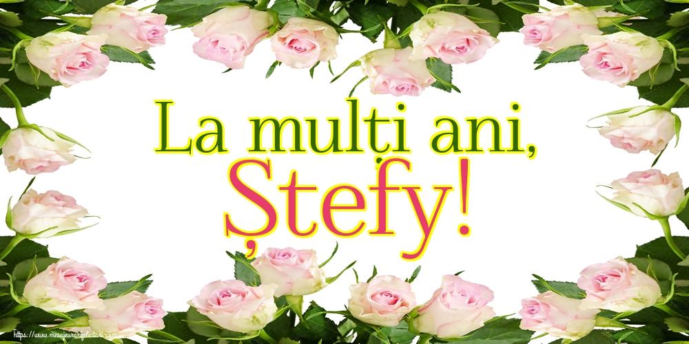Felicitari de Sfantul Stefan - La mulți ani, Ștefy!