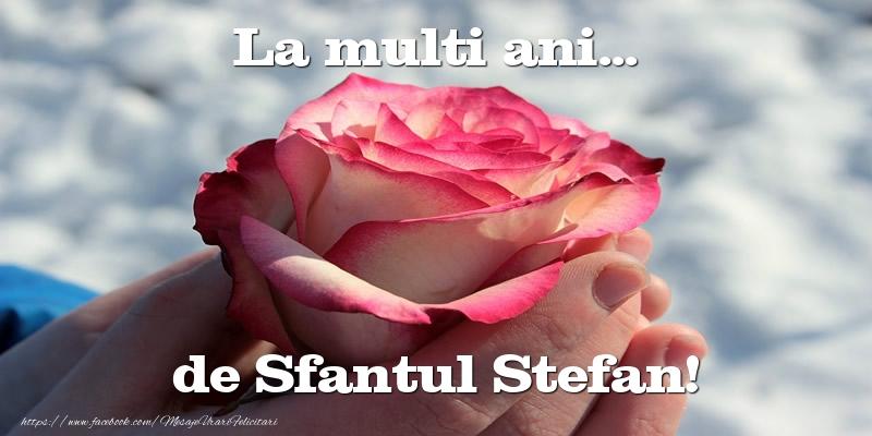 Felicitari de Sfantul Stefan - La multi ani... de Sfantul Stefan!