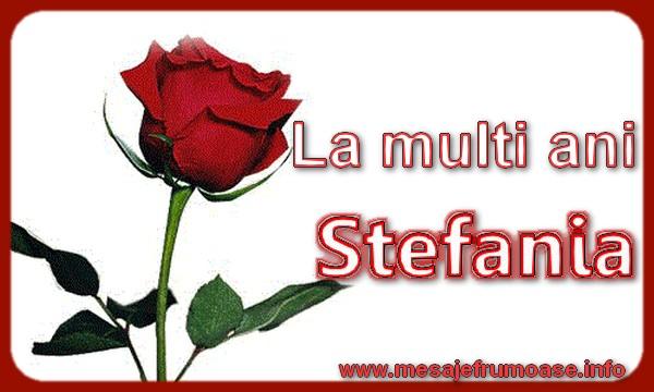 Cele mai apreciate felicitari de Sfantul Stefan - La multi ani Stefania