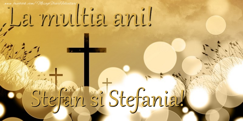 Felicitari de Sfantul Stefan - Stefan si Stefania!