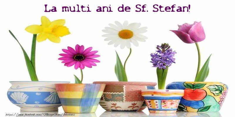 Felicitari de Sfantul Stefan - La multi ani de Sf. Stefan!