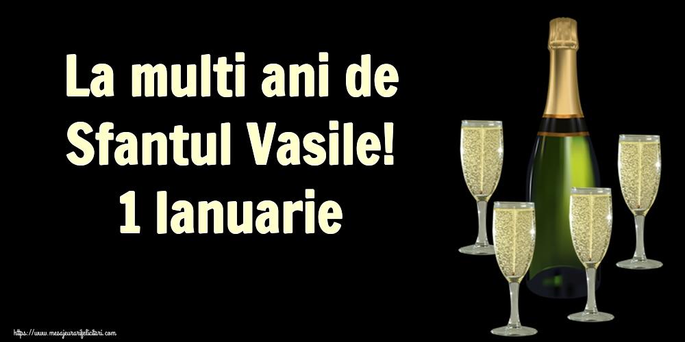 Felicitari de Sfantul Vasile - La multi ani de Sfantul Vasile! 1 Ianuarie