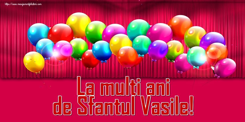Felicitari de Sfantul Vasile - La multi ani de Sfantul Vasile!