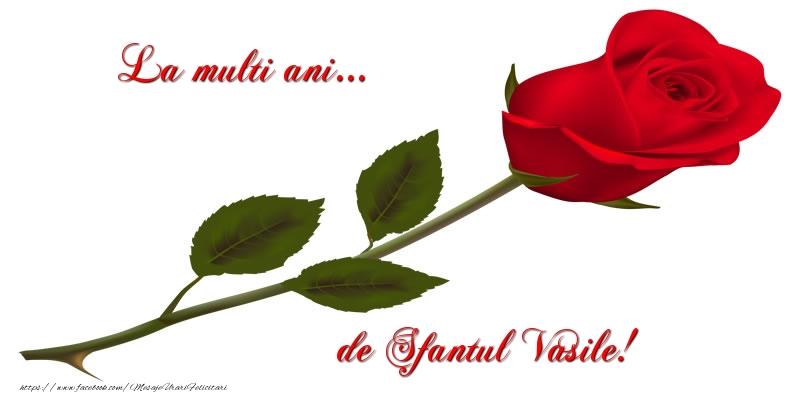 Felicitari de Sfantul Vasile - La multi ani... de Sfantul Vasile!