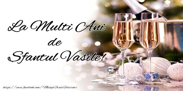 Sfantul Vasile La multi ani de Sfantul Vasile!