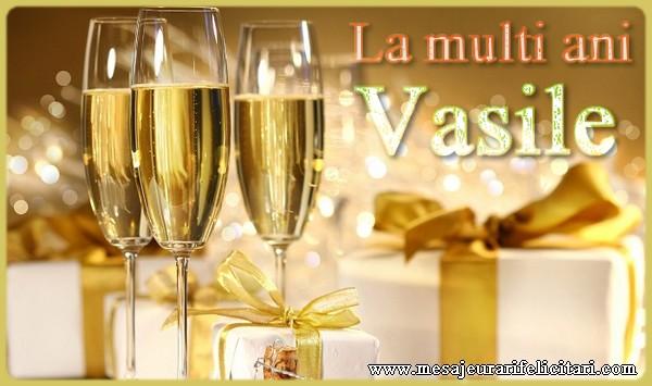 Cele mai apreciate felicitari de Sfantul Vasile - La multi ani Vasile