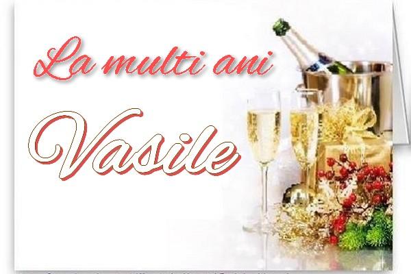 Sfantul Vasile La multi ani Vasile
