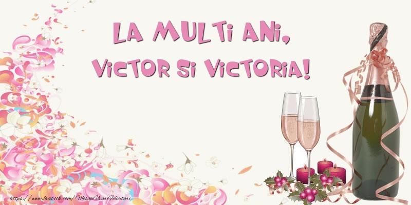 La multi ani, Victor si Victoria!