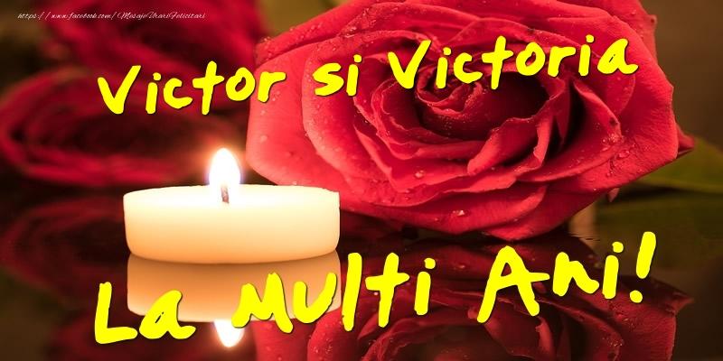 Victor si Victoria  - La multi ani!