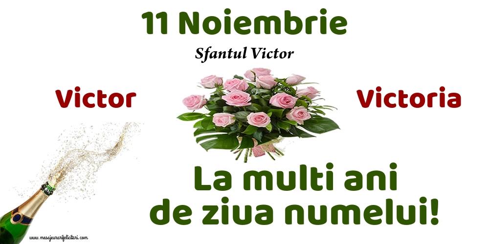 Felicitari de Sfantul Victor - 11 Noiembrie - Sfantul Victor - mesajeurarifelicitari.com