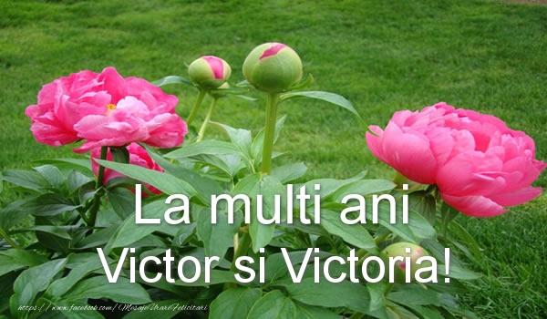 Felicitari de Sfantul Victor - La multi ani Victor si Victoria! - mesajeurarifelicitari.com