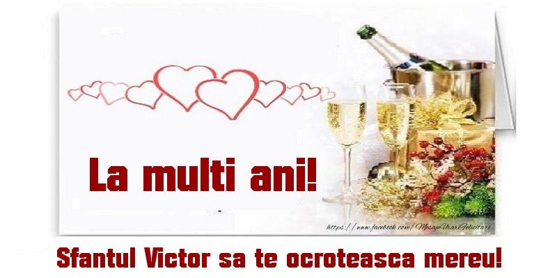 La multi ani! Sfantul Victor sa te ocroteasca mereu!
