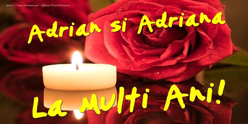 Felicitari de Sfintii Adrian si Natalia - Adrian si Adriana  - La multi ani!