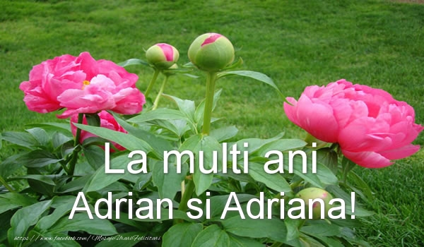 Felicitari de Sfintii Adrian si Natalia - La multi ani Adrian si Adriana!