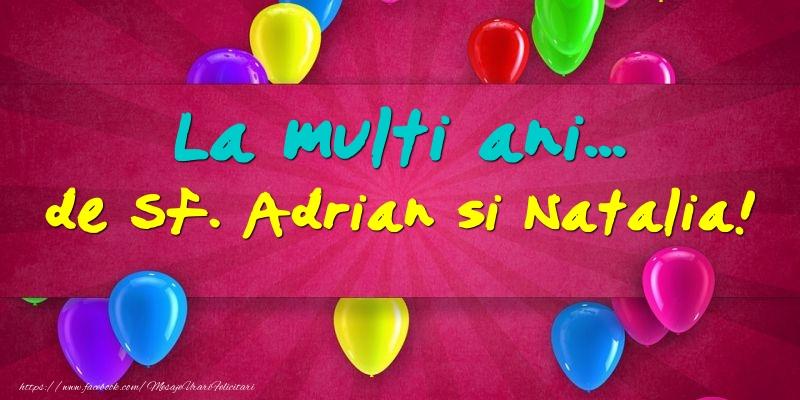 Felicitari de Sfintii Adrian si Natalia - La multi ani... de Sf. Adrian si Natalia!