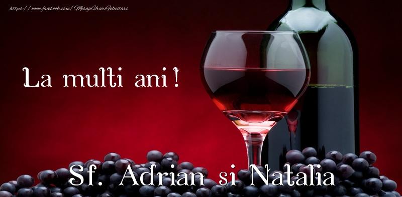 Felicitari de Sfintii Adrian si Natalia - La multi ani! Sf. Adrian si Natalia