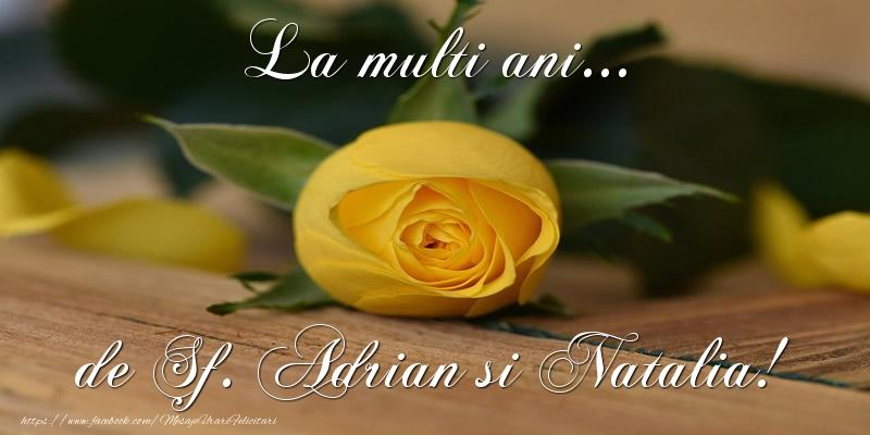 Top 10 felicitari de Sfintii Adrian si Natalia