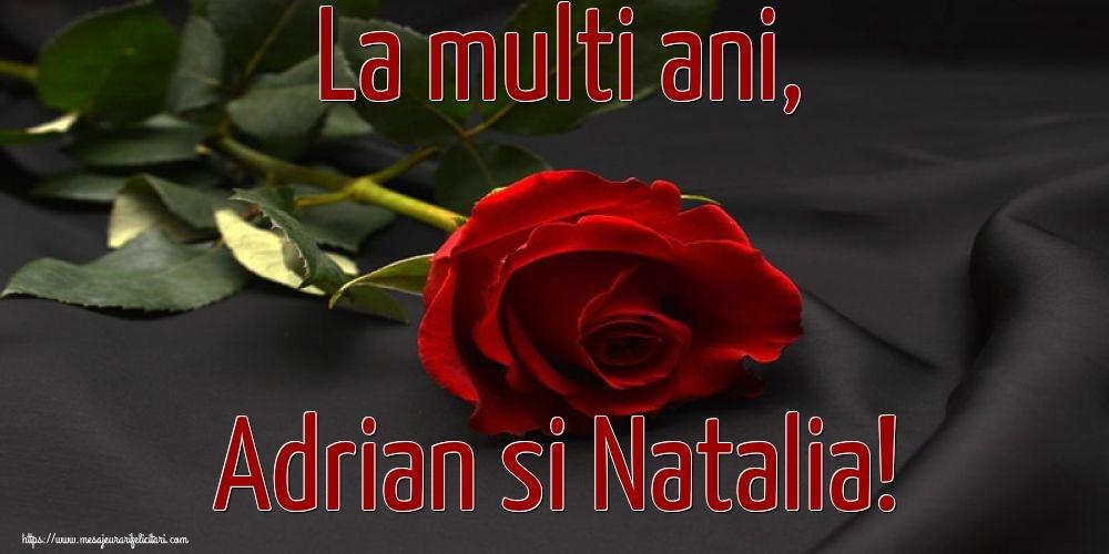 Felicitari de Sfintii Adrian si Natalia - La multi ani, Adrian si Natalia!