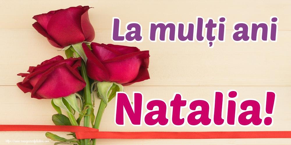 Felicitari de Sfintii Adrian si Natalia - La mulți ani Natalia!