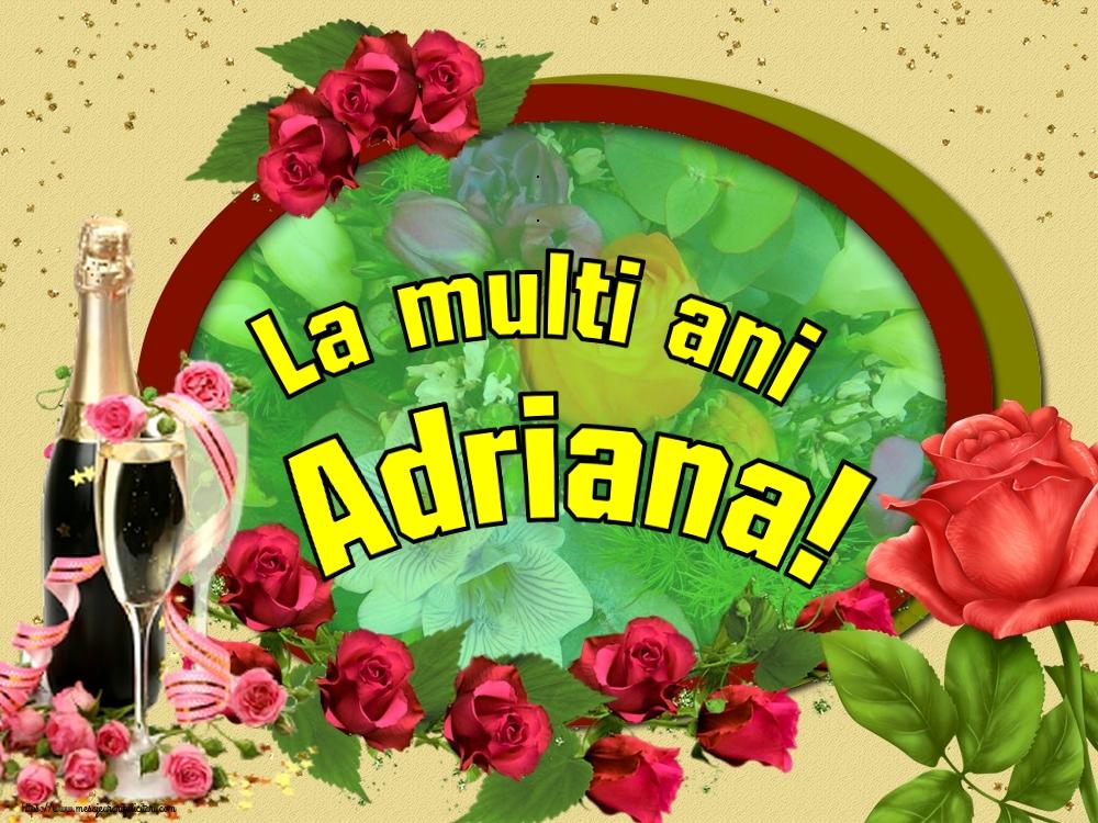Felicitari de Sfintii Adrian si Natalia - La multi ani Adriana!