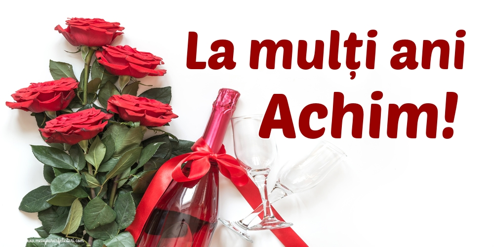 Felicitari de Sfintii Ioachim si Ana - La mulți ani Achim!