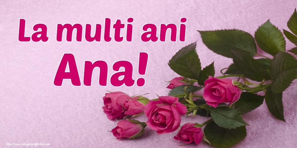 Sfintii Ioachim si Ana La multi ani Ana!