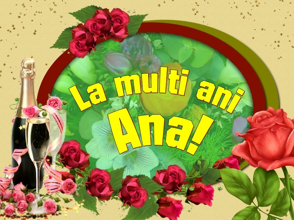 Felicitari de Sfintii Ioachim si Ana - La multi ani Ana!