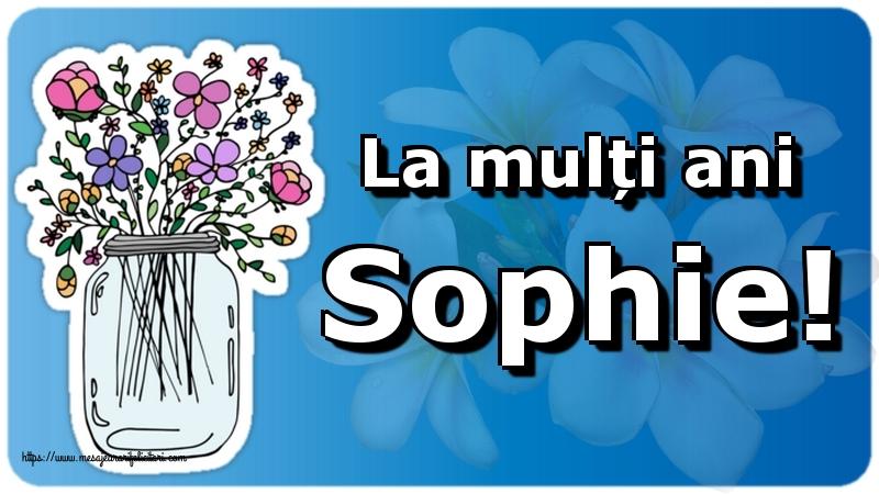 Felicitari de Sfânta Sofia - La mulți ani Sophie!