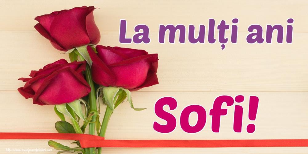 Felicitari de Sfânta Sofia - La mulți ani Sofi!