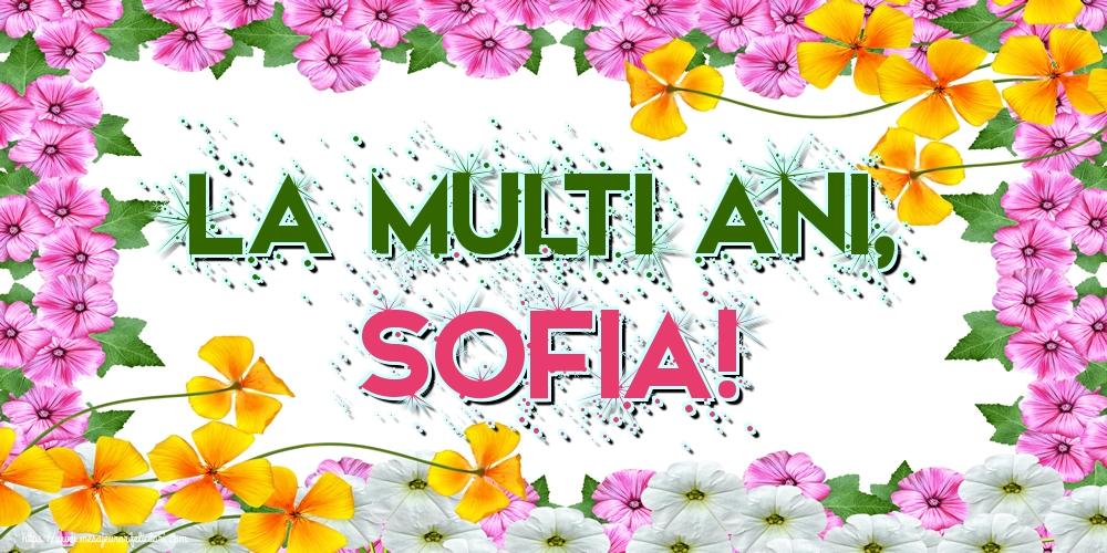 Felicitari de Sfânta Sofia - La multi ani, Sofia!