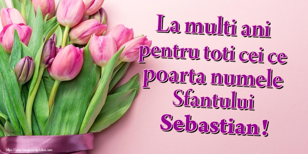 Felicitari de Sfântul Sebastian - La multi ani pentru toti cei ce poarta numele Sfantului Sebastian!