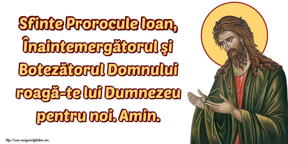 Imagini de Tăierea capului Sfântului Ioan - Sfinte Prorocule Ioan, Înaintemergătorul şi Botezătorul Domnului roagă-te lui Dumnezeu pentru noi. Amin.