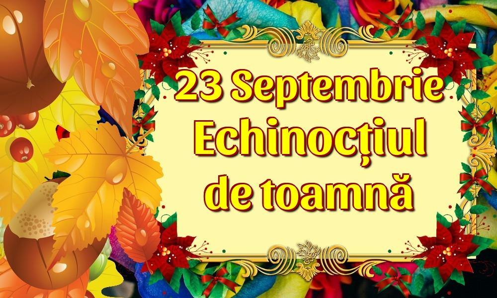 Felicitari de Toamnă - 23 Septembrie Echinocțiul de toamnă