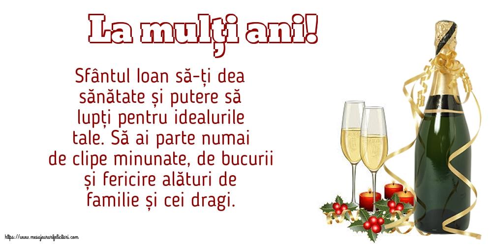 Felicitari de Sfintii Vasile, Grigore si Ioan - La mulți ani!