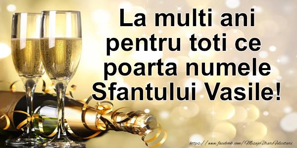 La multi ani tuturor celor ce poarta numele Sfantului Vasile!