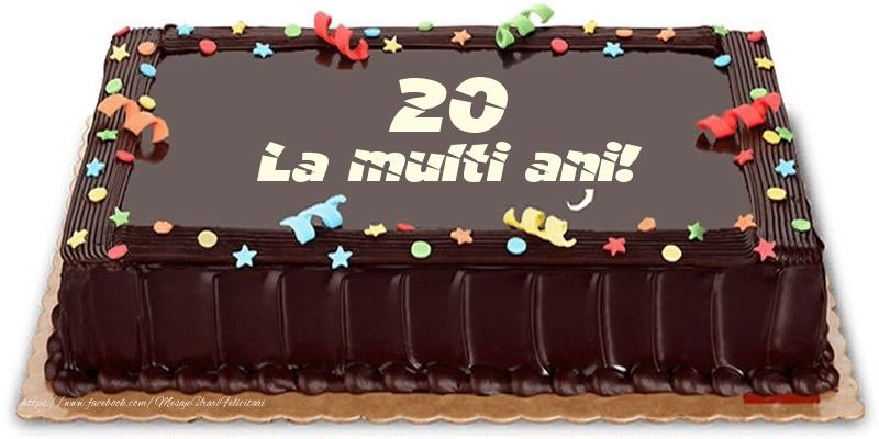 Felicitari de zi de nastere cu varsta - 20 de ani - La multi ani! - mesajeurarifelicitari.com