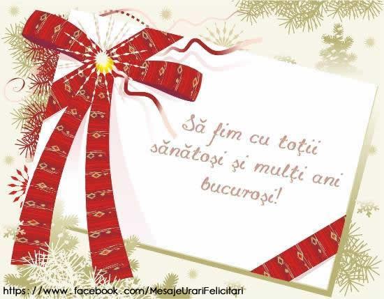 Felicitari de zi de nastere - Sa fim cu totii sanatosi si multi ani bucurosi! - mesajeurarifelicitari.com